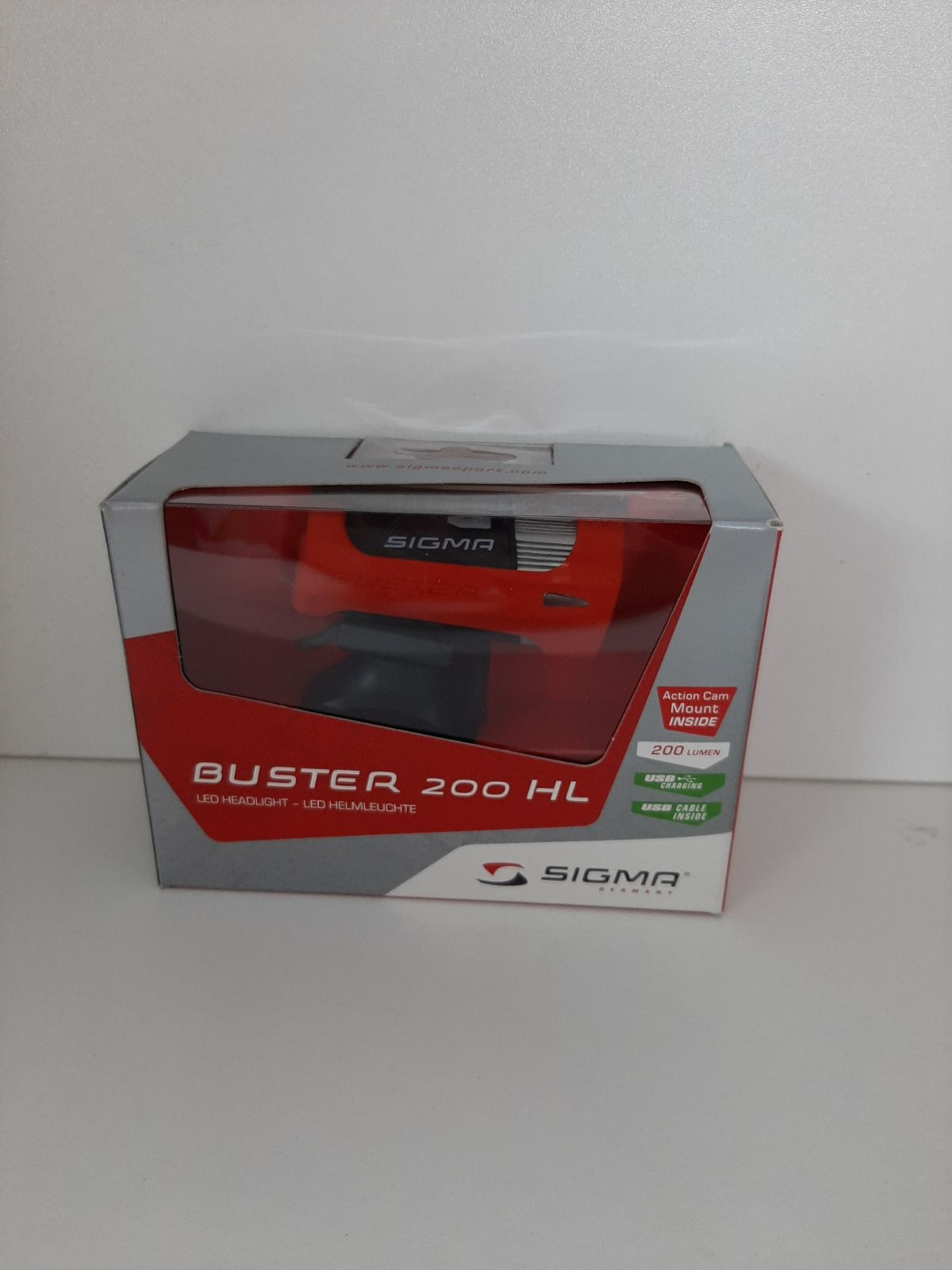 Фонарь Sigma Buster 200 HL