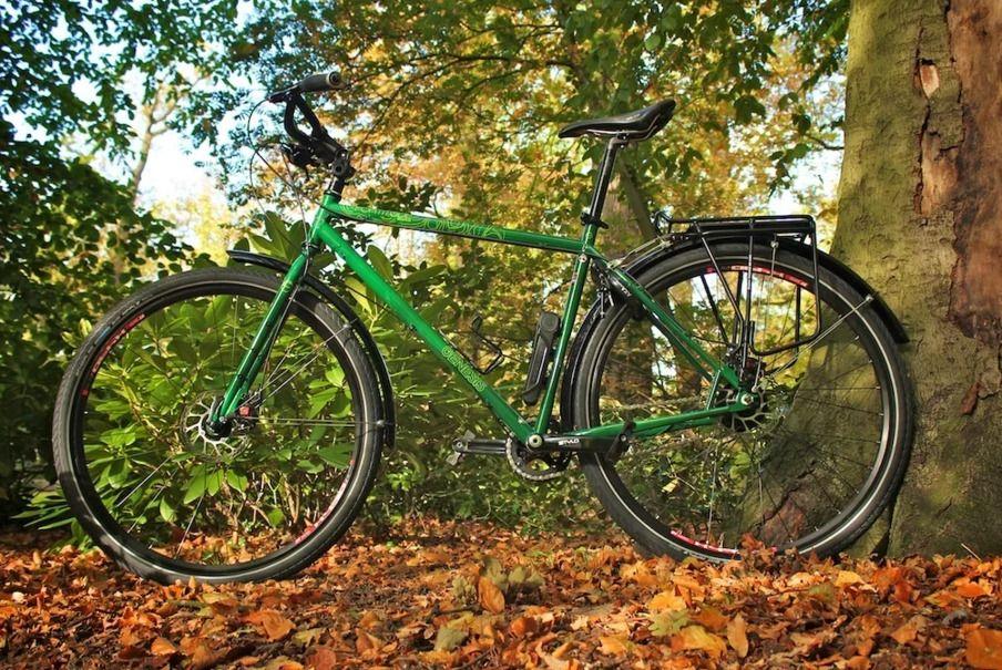 Крылья велосипедные (щитки) SKS Bluemels Shiny Mudguard Set - 53 мм