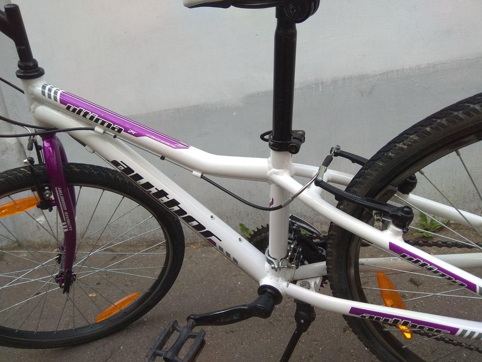 Велосипед Author Ultima 24 . детский/подростковый