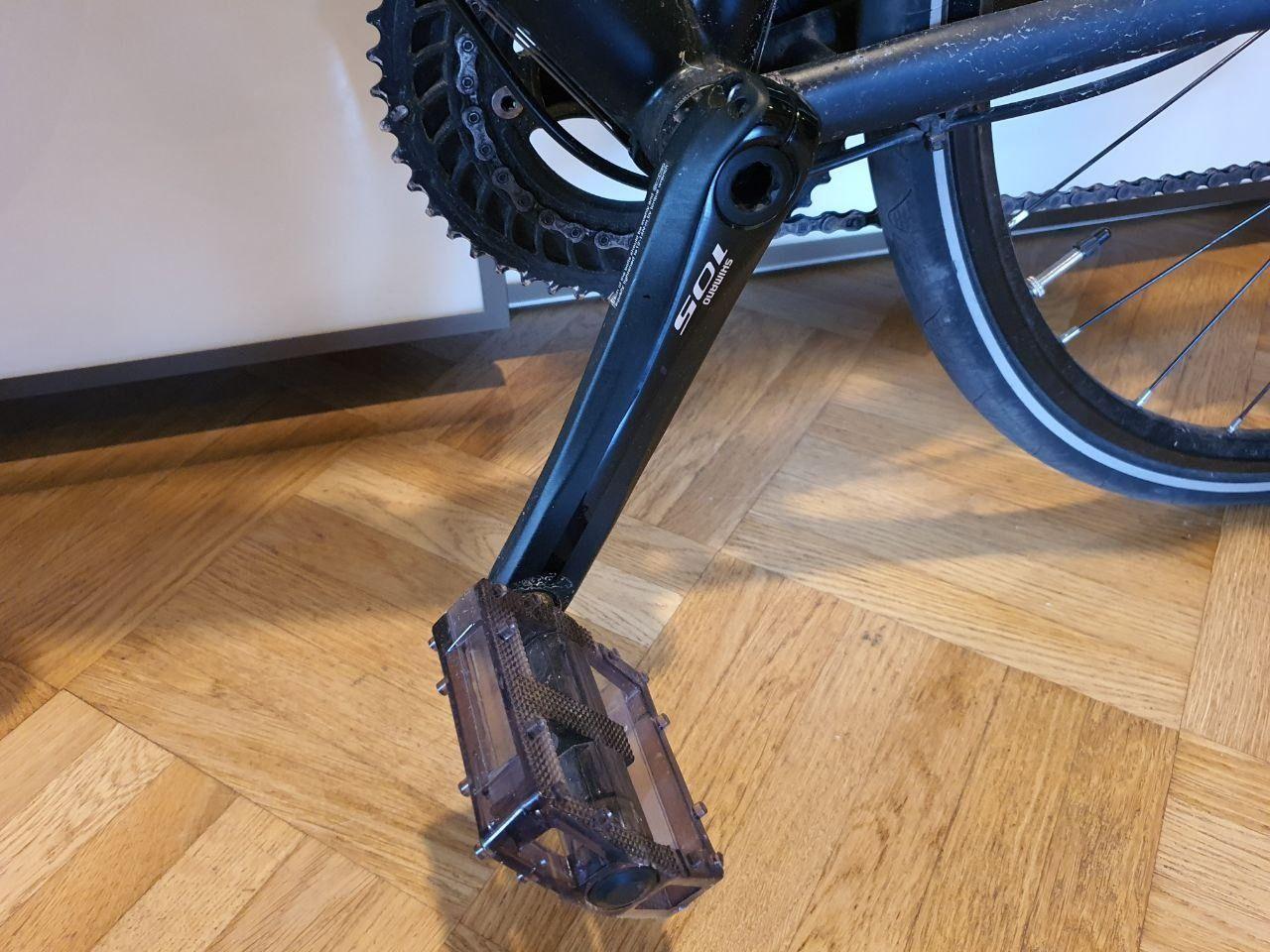 Велосипед шоссейный Enigma, титановая рама