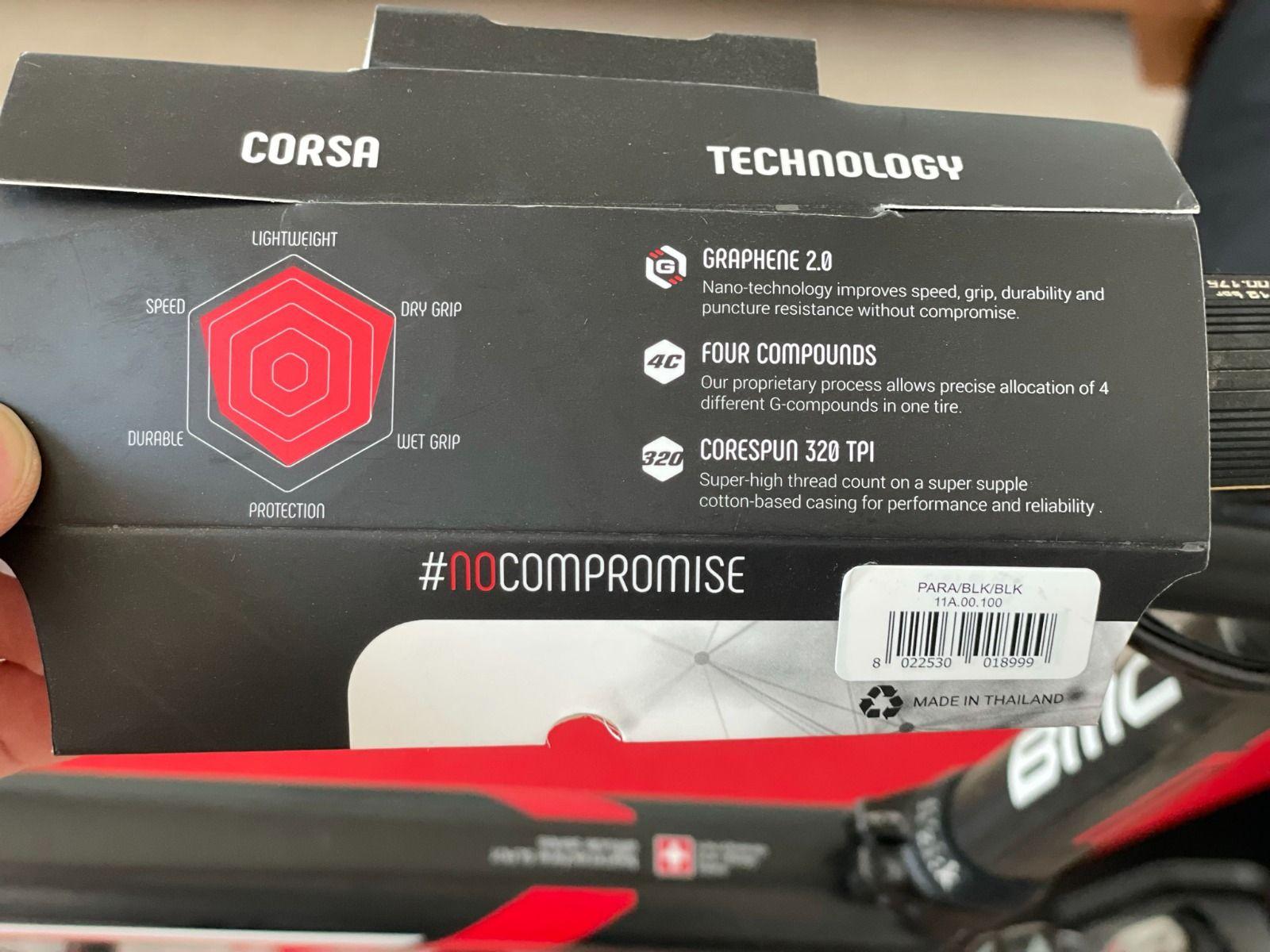 Трубка Vittoria Corsa Graphene 2.0 Tubular  25mm