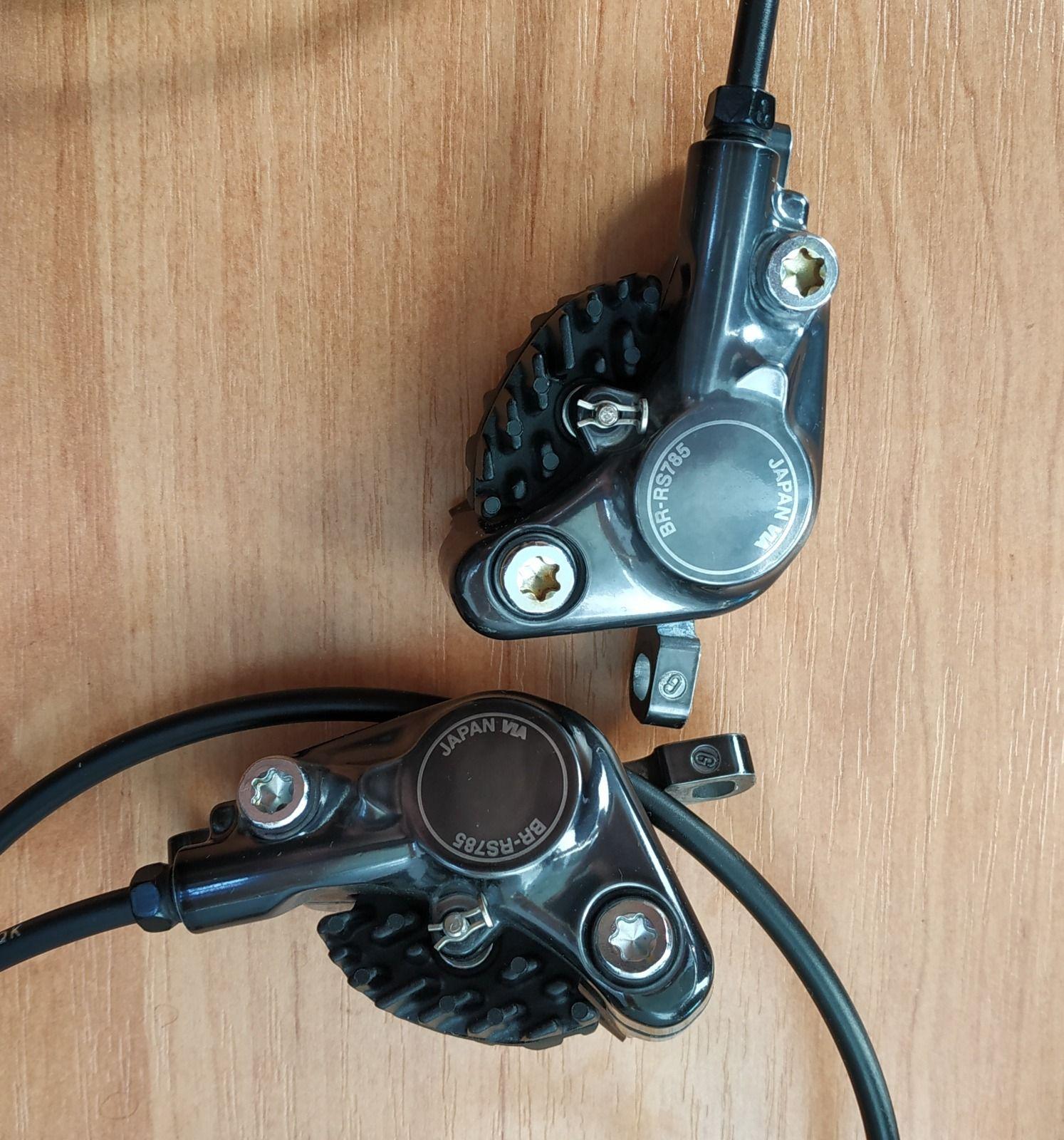 Калиперы Shimano BR-RS785 Ultegra + гидролиния