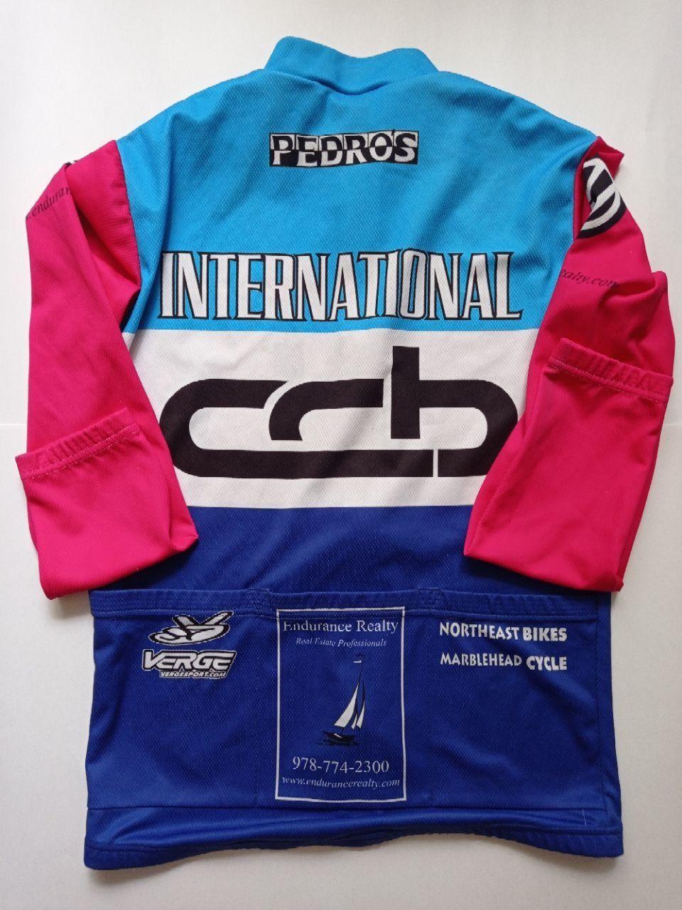 Веломайка с длинным рукавом ССB International