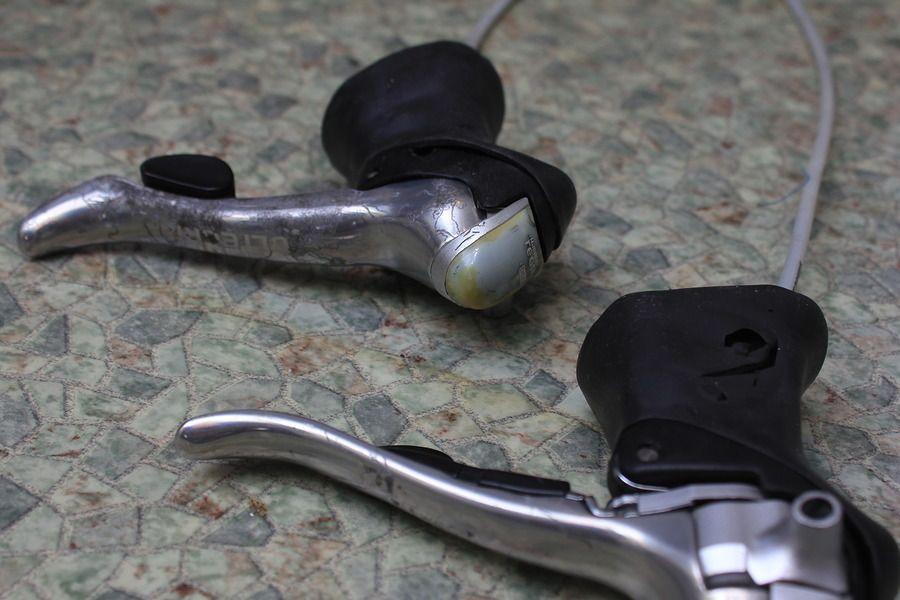 дуалы Shimano Ultegra ST-6510.
