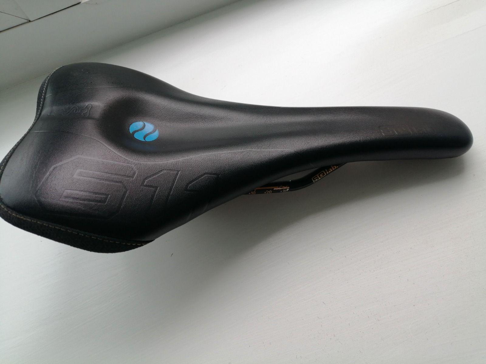 седло б.у с практически нового велосипеда SQ LAB 611