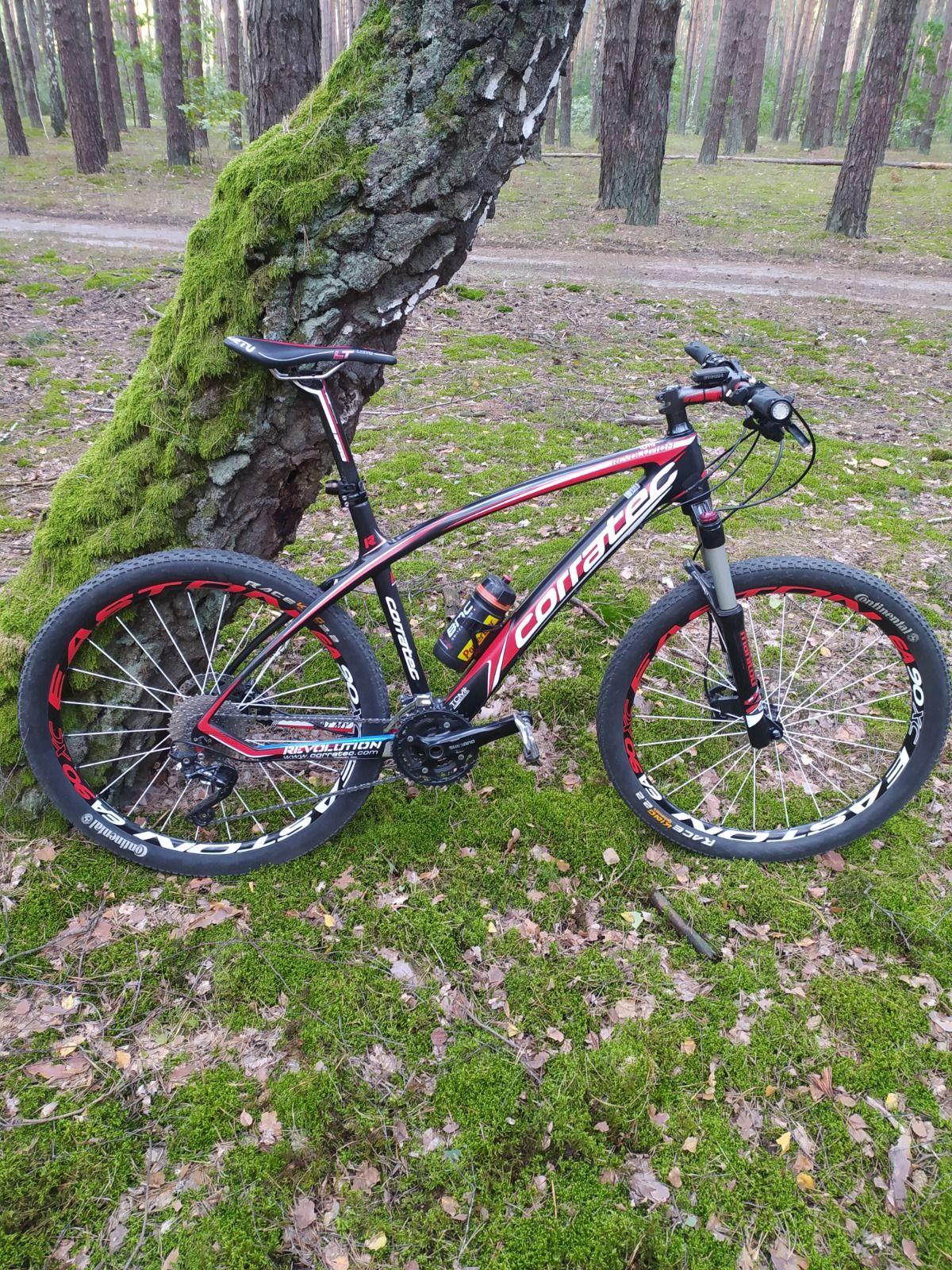 Велосипед  карбоновый Corratec revolution