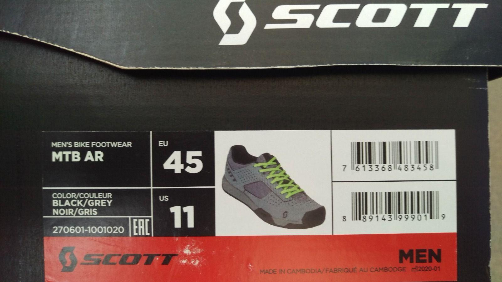 Велосипедные кроссовки SCOTT