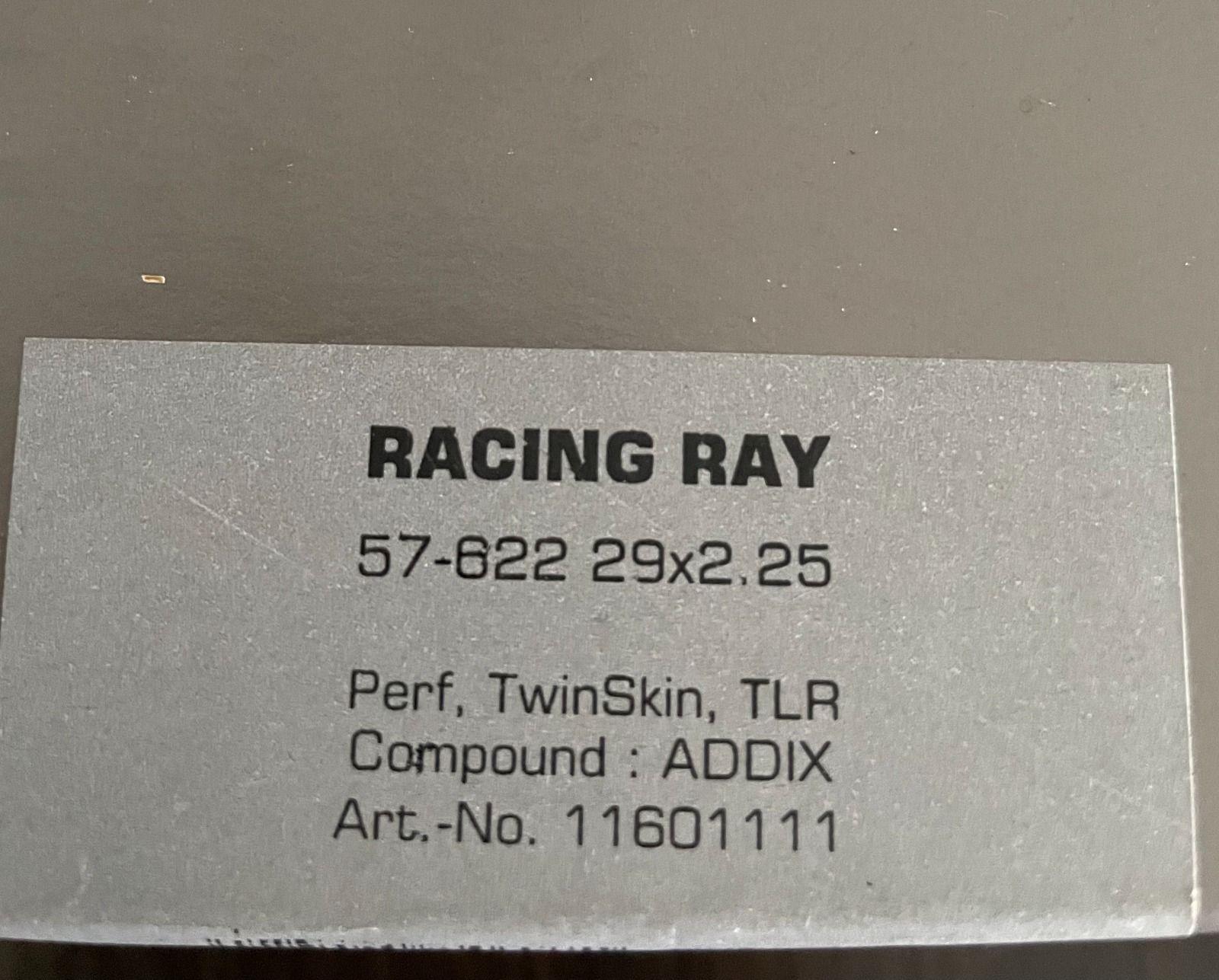 Schwalbe Racing Ray 29x2.25