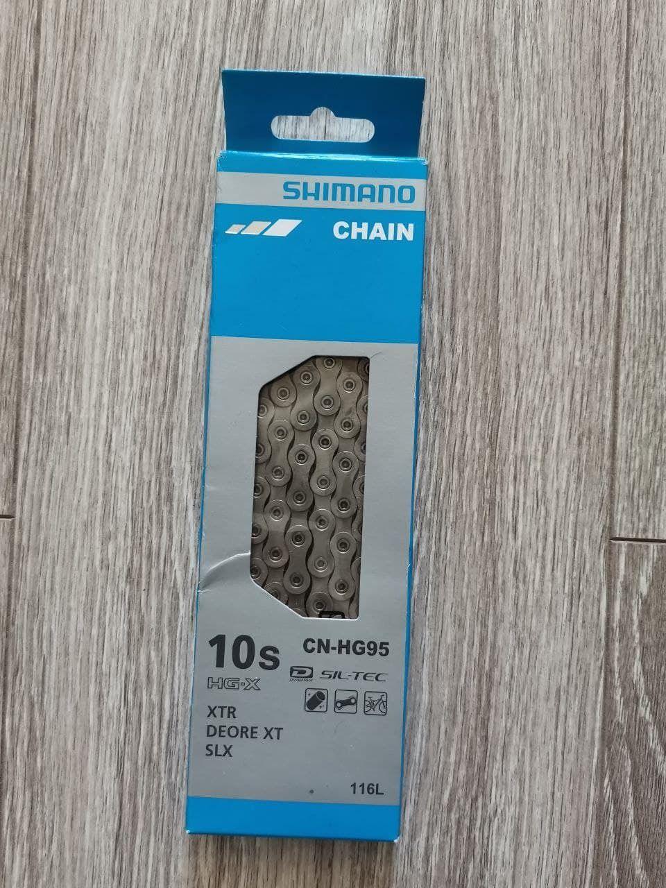 Новая цепь Shimano HG-95