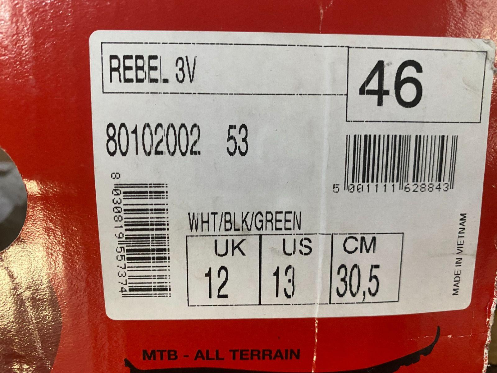 Велотуфли Northwave Rebel 3V MTB