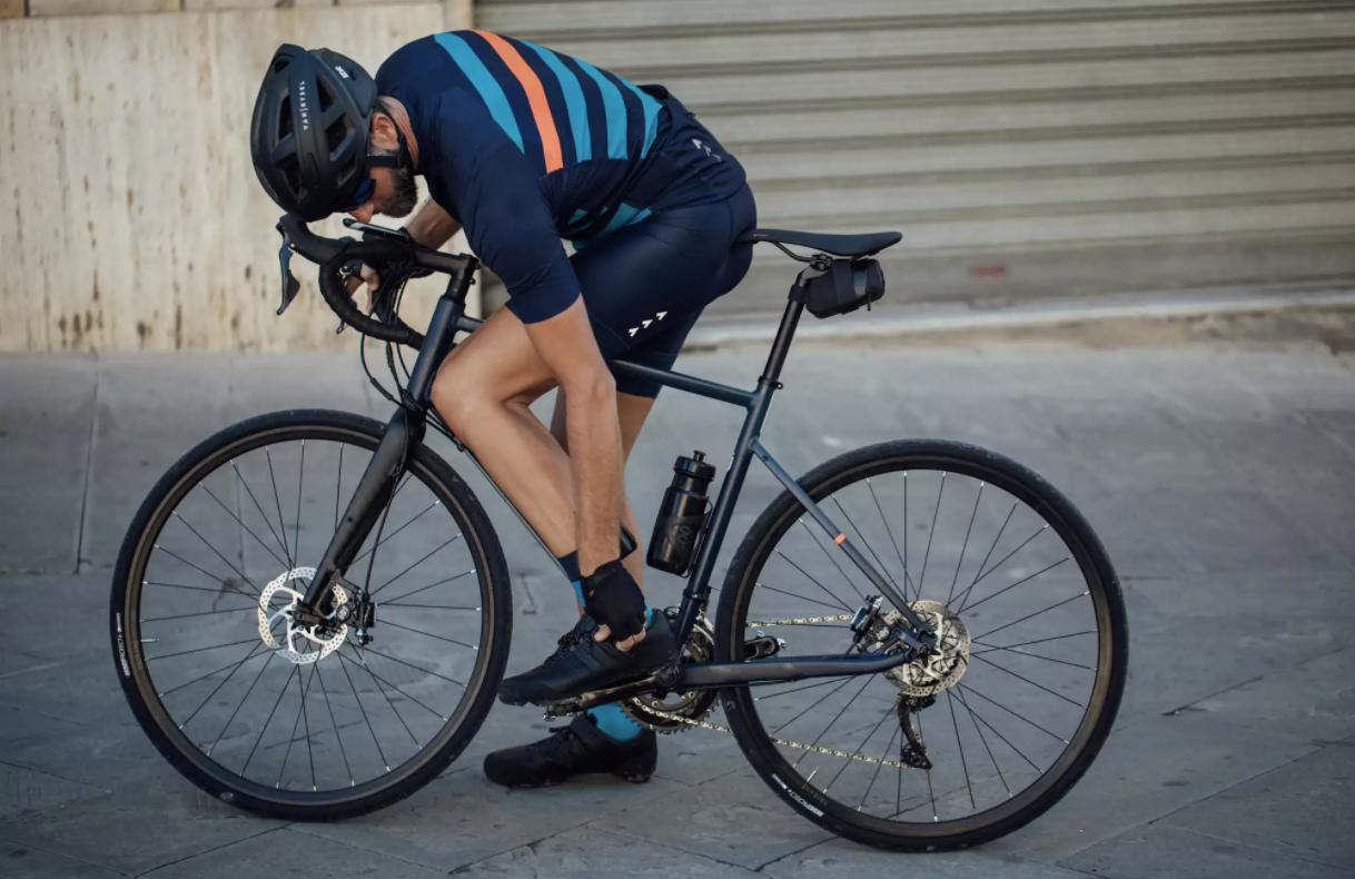 Кожаные велотуфли TRIBAN SPD ROADC 520
