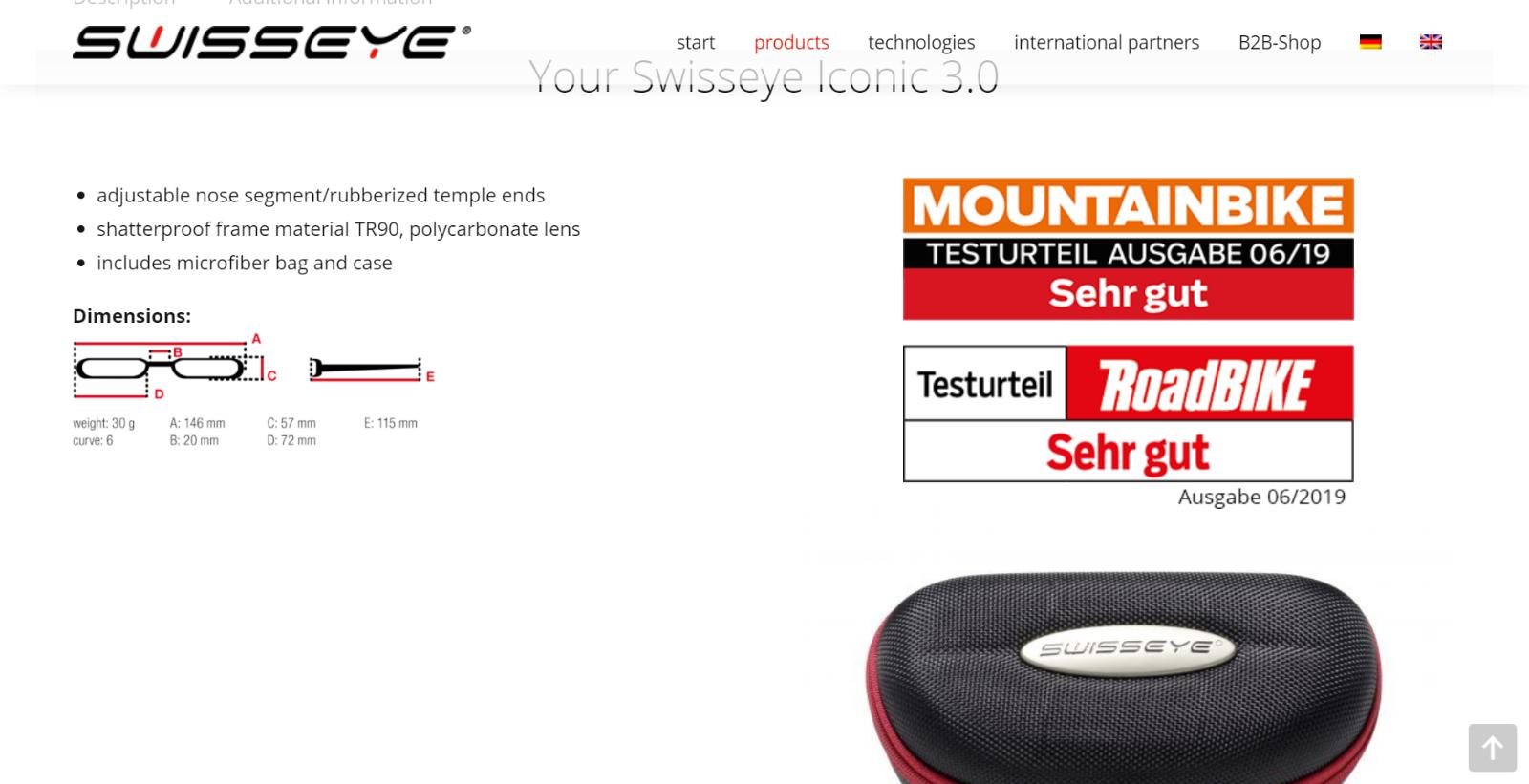 Swiss Eye Iconic 3.0
