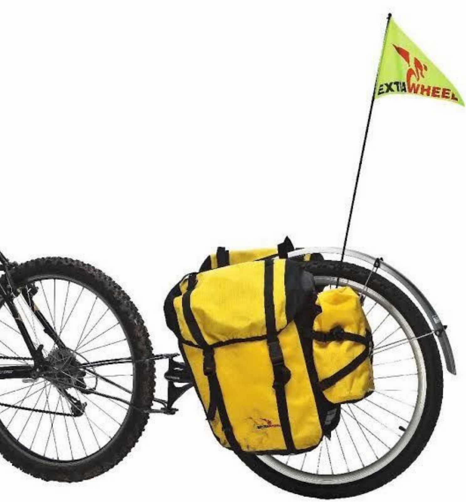 велоприцеп EXTRAWHEEL.