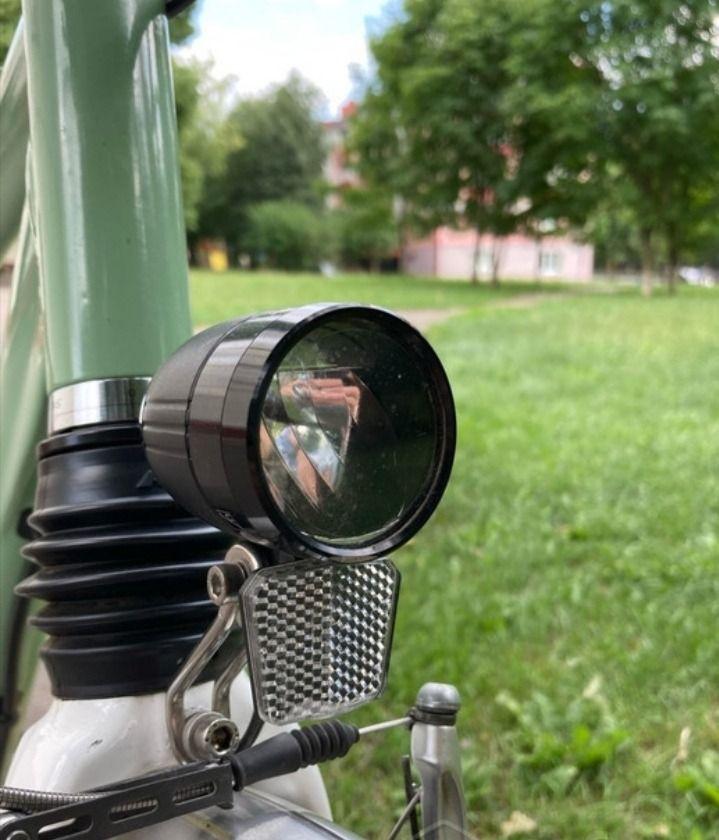 Алюминиевый велосипед