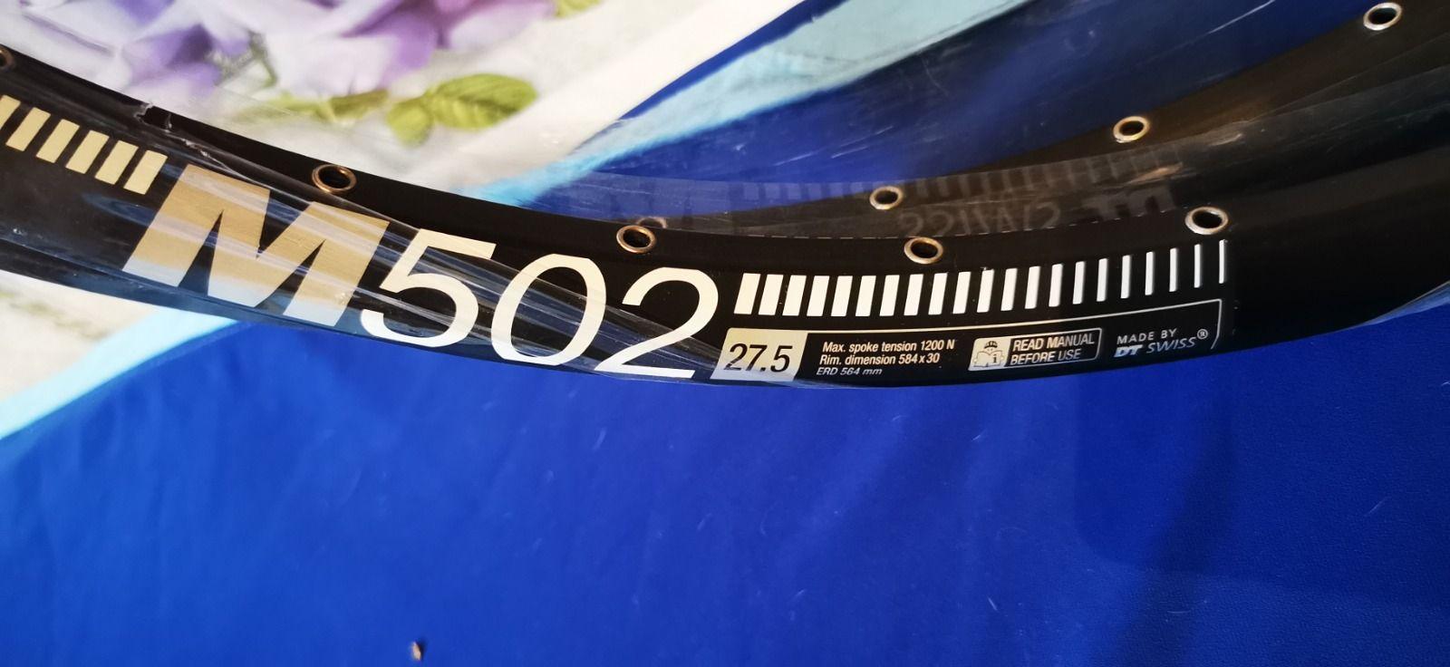 Dt swiss m502
