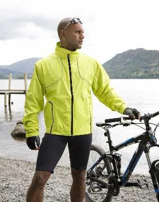Велокуртки, дождевики и жилеты