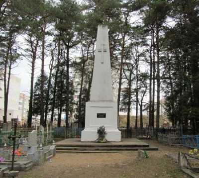 Памятник жертвам эпидемий 1920-23 гг.