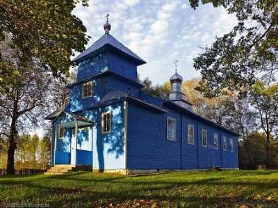 Церковь Крестовоздвиженская (дерев.)