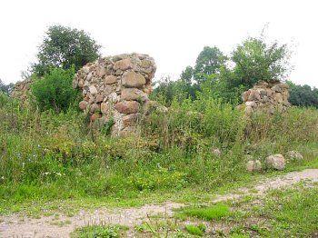 Хозпостройка (руины)