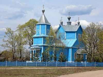 Церковь Покровская (дерев.)