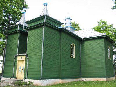 Церковь Успенская (дерев.)