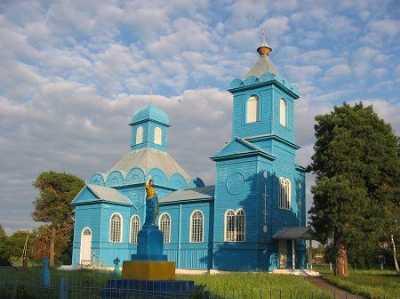 Церковь Рождества Богородицы (дерев.)