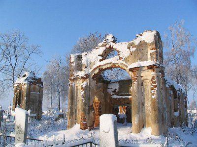Часовня-усыпальница Солтанов (руины)
