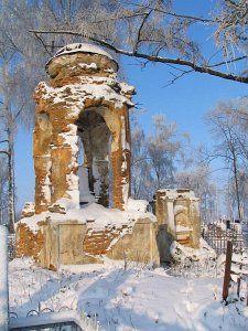 Часовня-надмогилье  Д. Рейтана (руины)