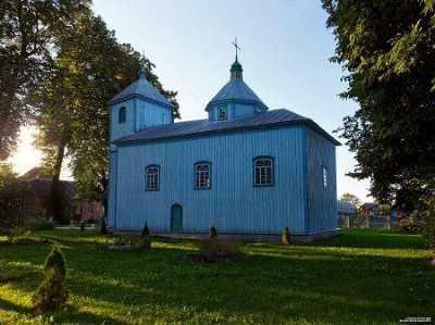Церковь Воскресенская (дерев.)