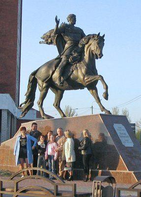 Памятник Всеславу Чародею