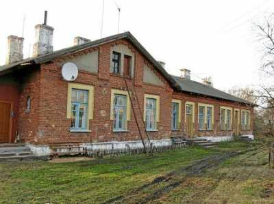 Железнодорожная казарма